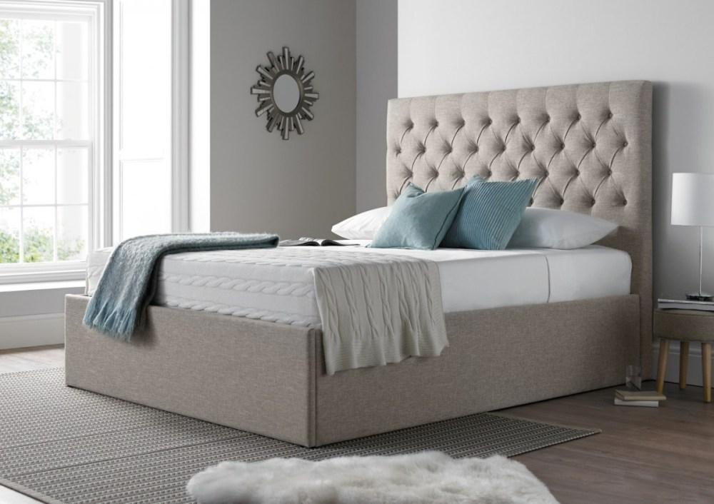 Upholstered Bed Frame Only