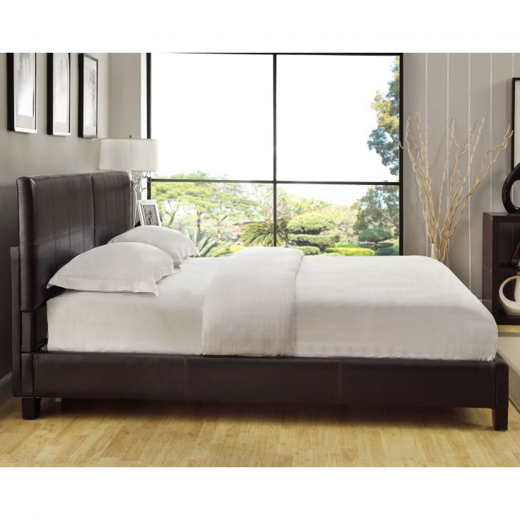 Upholstered California King Bed Frame