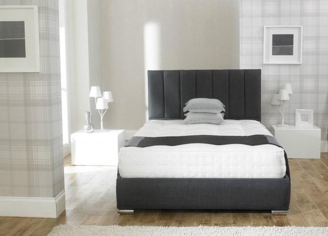Upholstered King Single Bed Frame