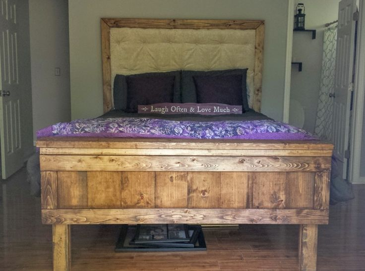 Used Restoration Hardware Bed Frame