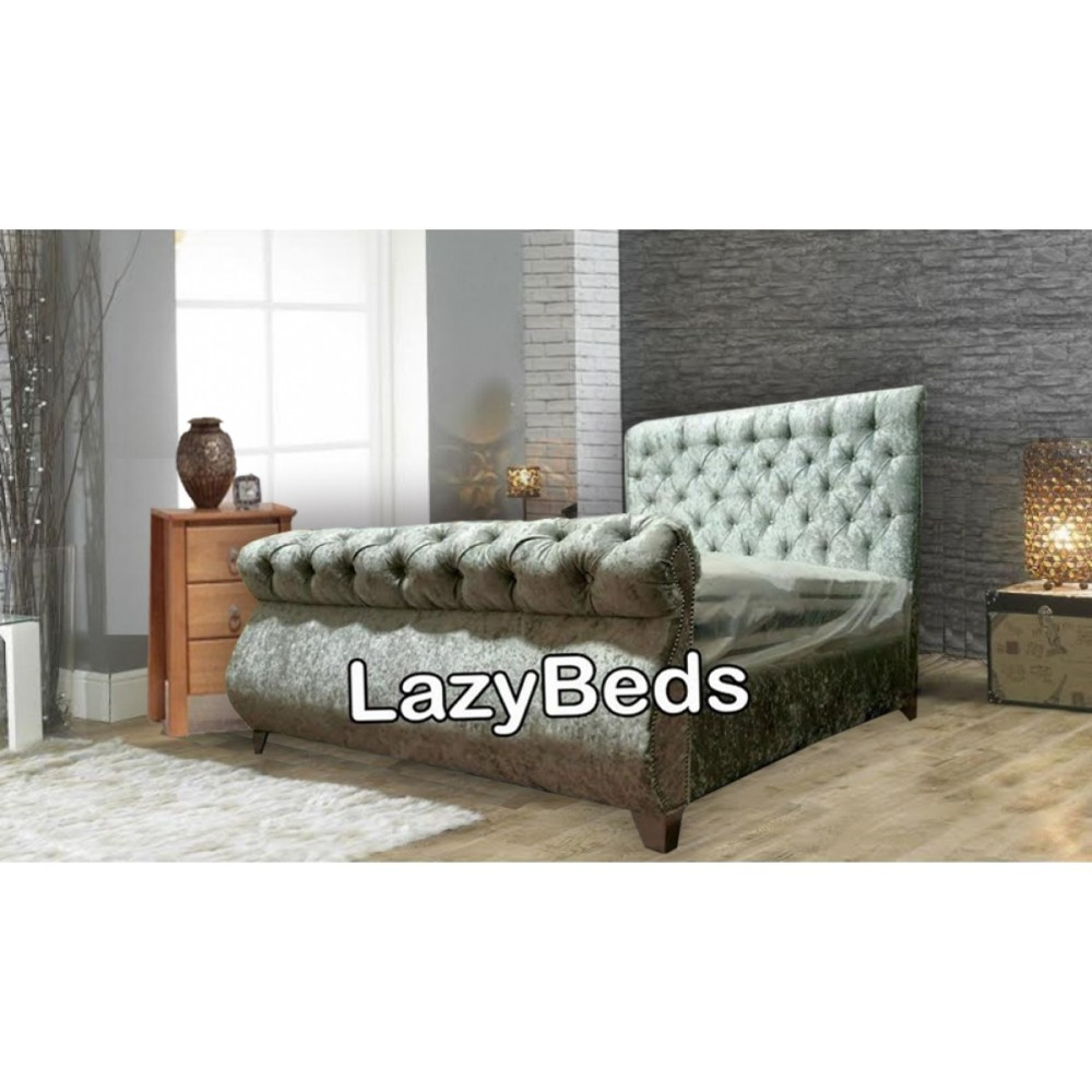 Velvet Bed Frame Sale