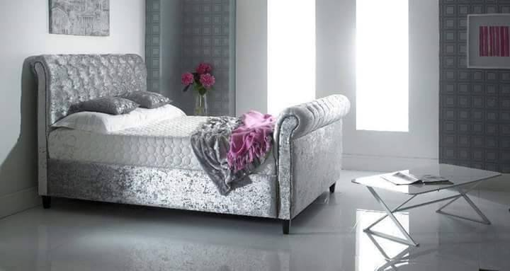 Velvet Bed Frame Uk