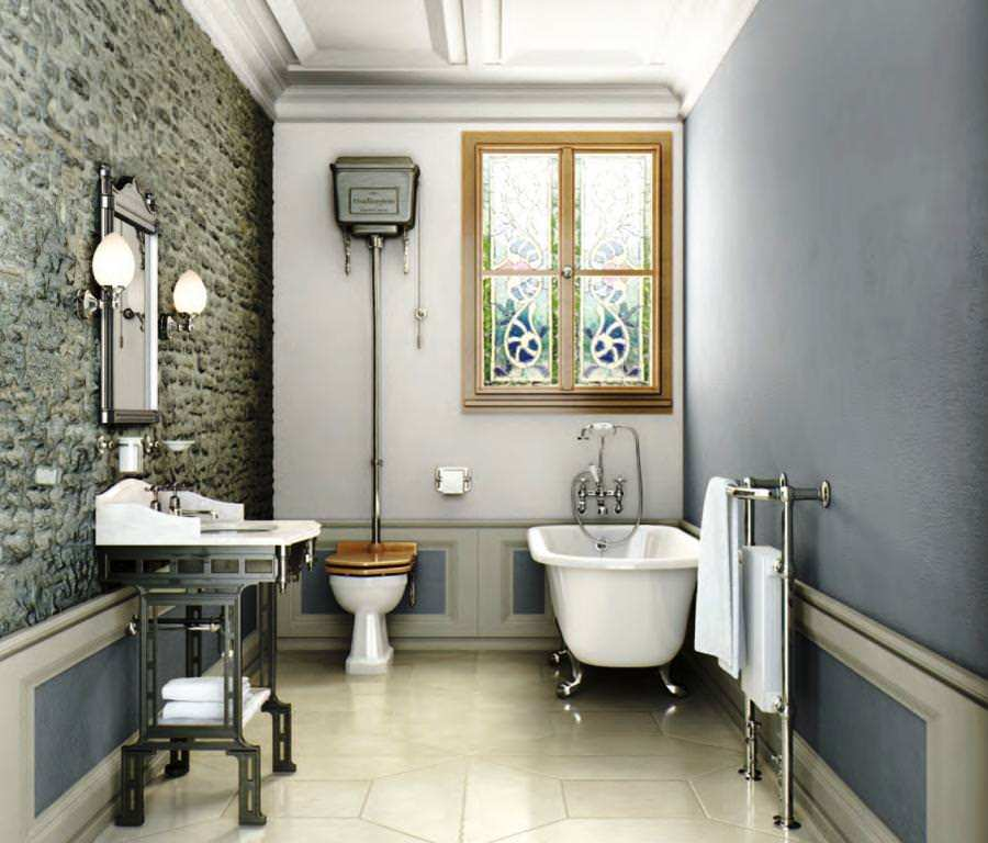 Victorian Style Bathroom Ideas