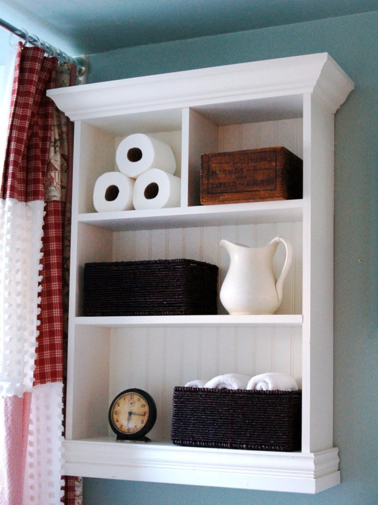 Vintage Bathroom Storage Ideas