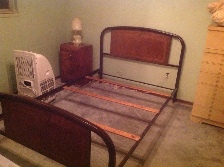 Vintage Metal Bed Frame Full Size
