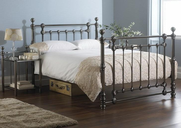 Vintage Metal Bed Frame Full