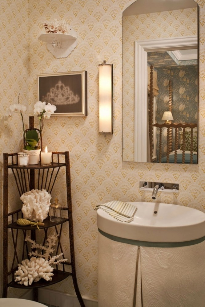 Wallpaper Ideas For Guest Bathroom
