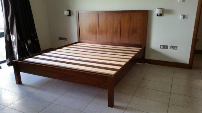 Walnut Bed Frame Super King