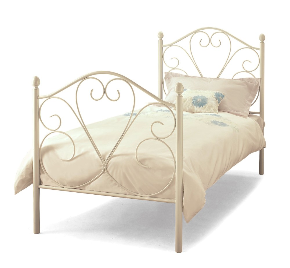 White Bed Frame Metal