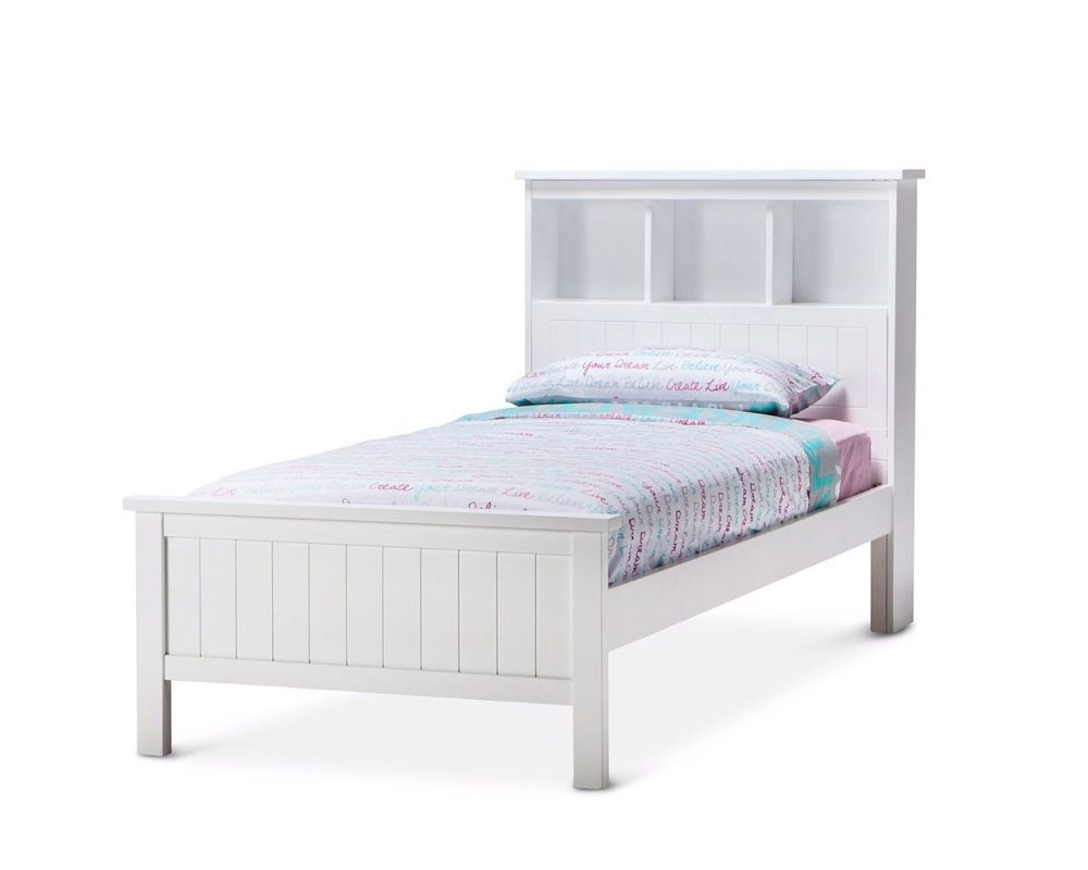 White Bed Frame With Storage Uk