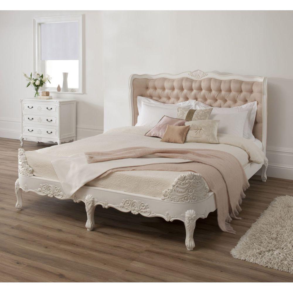 White Bed Frames King
