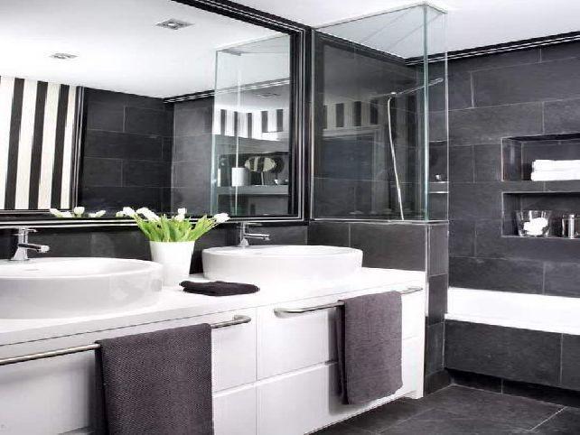 White Grey Bathroom Ideas