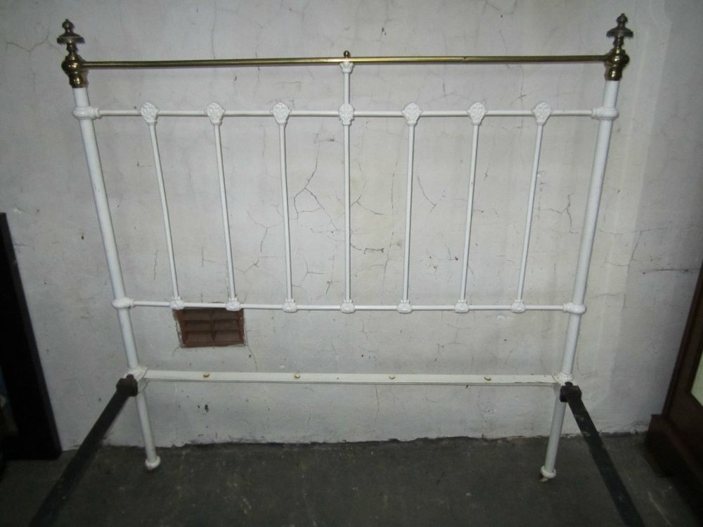 White Iron Bed Frame Uk