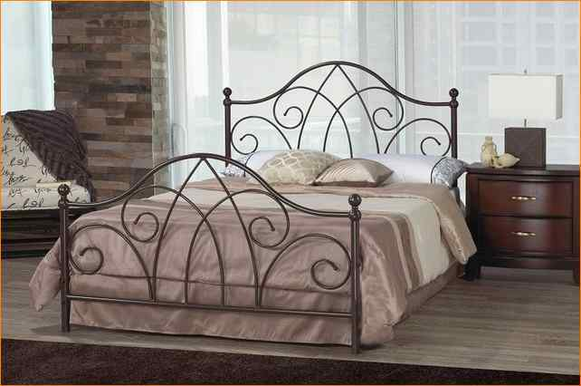 White Iron Bed Frames Queen