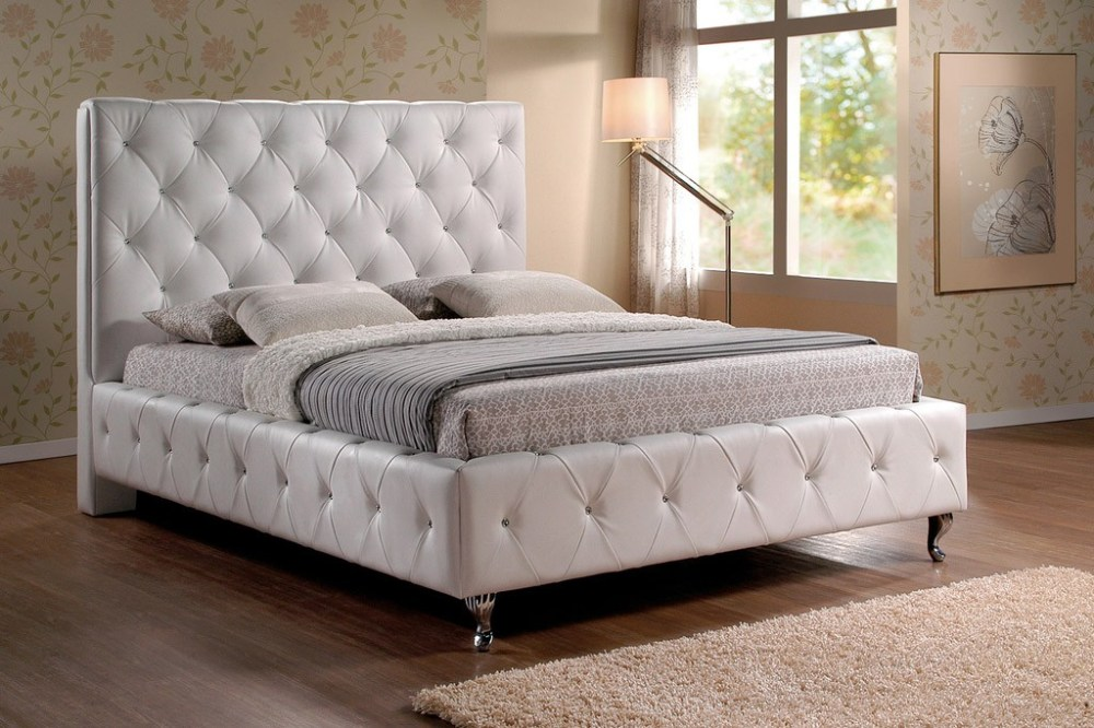 White Queen Bed Frame Cheap