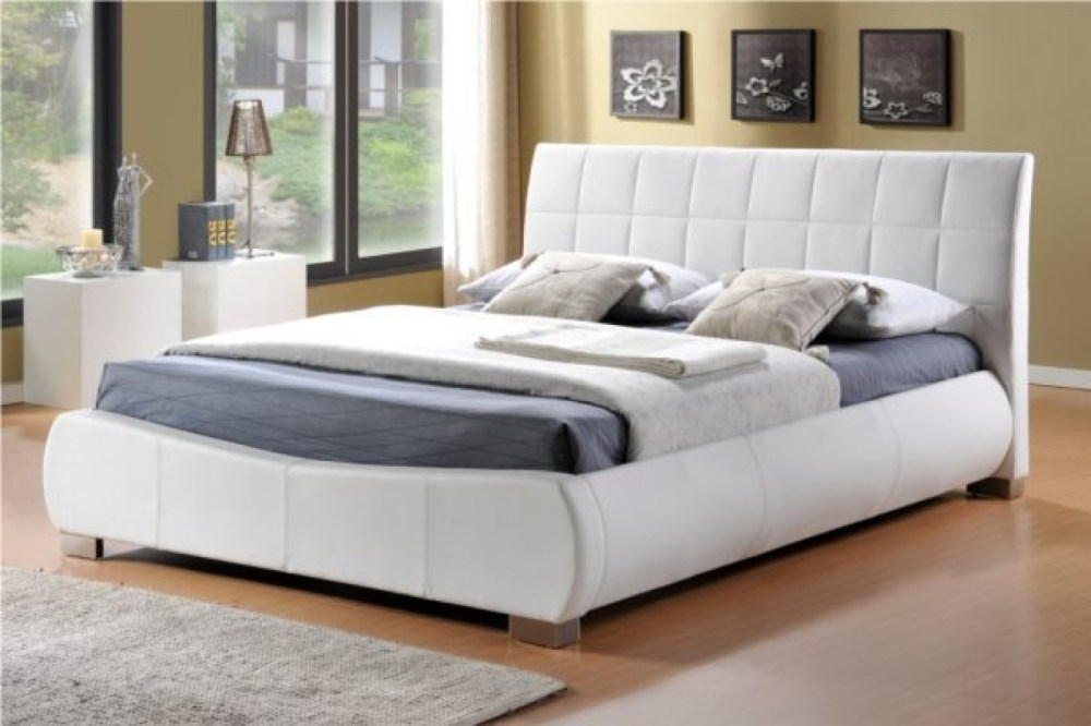 White Super King Bed Frame