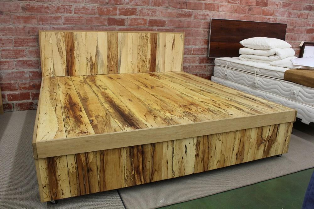 Wood Bed Frame King Plans