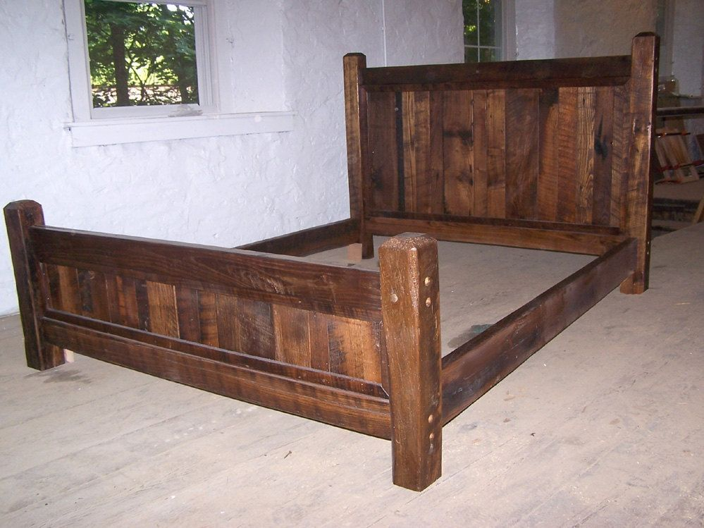 Wood Bed Frame Queen
