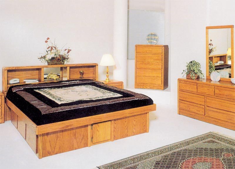 Wood California King Bed Frame