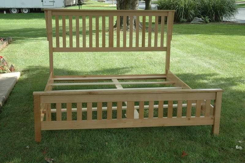 Wood King Bed Frame Plans