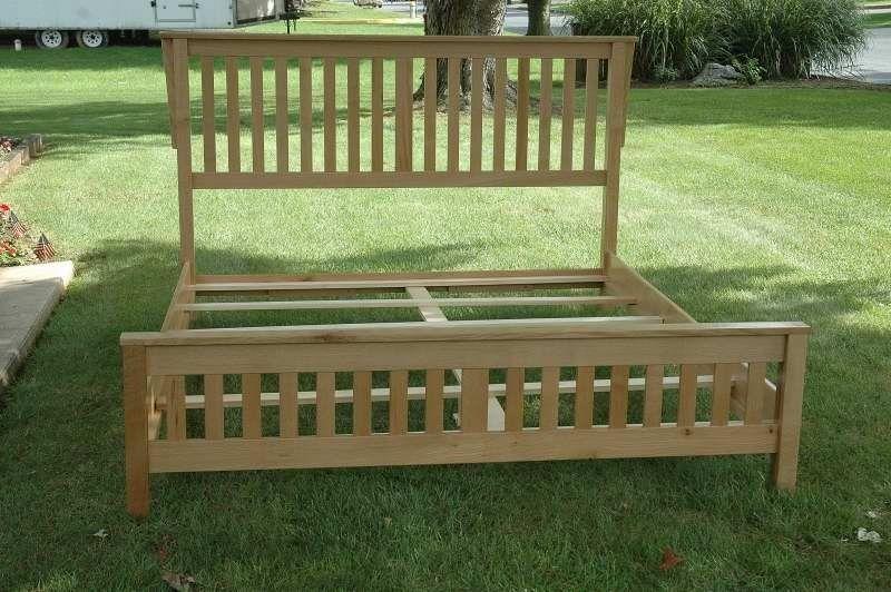 Wood King Bed Frame Plans