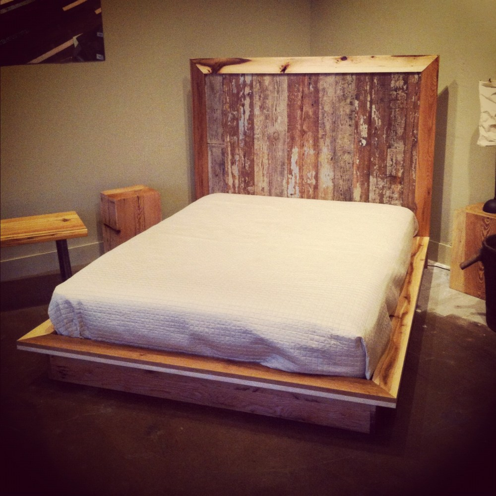 Wood King Bed Frames Headboards