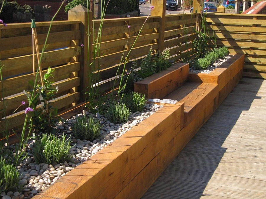 Wood Landscaping Border Ideas