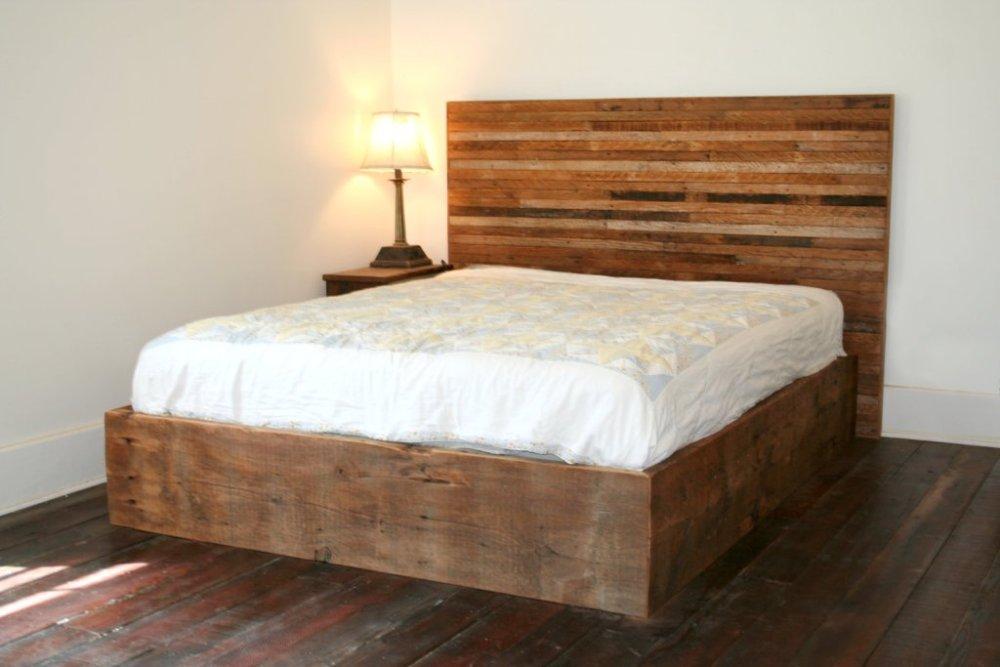 Wood Pallet Bed Frame Plans