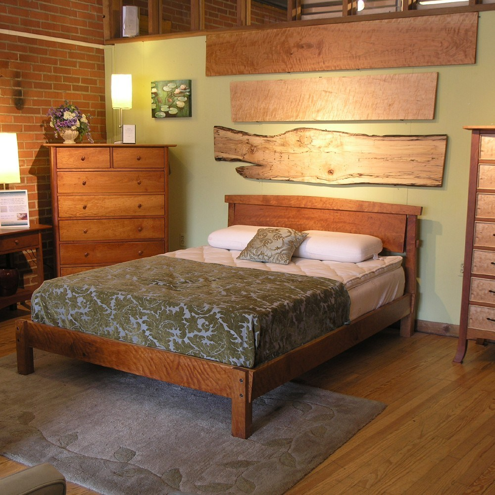 Wood Queen Bed Frame