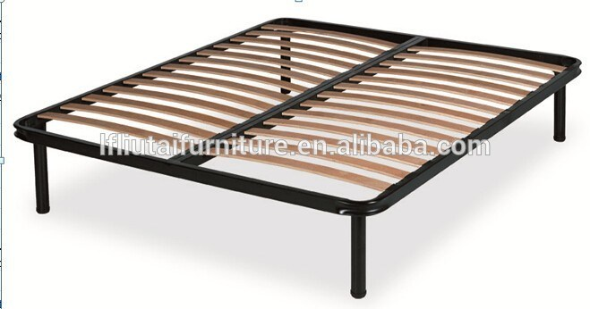 Wood Slat Bed Frame King