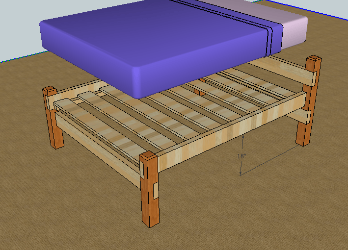Wooden Bed Frame Plans Free