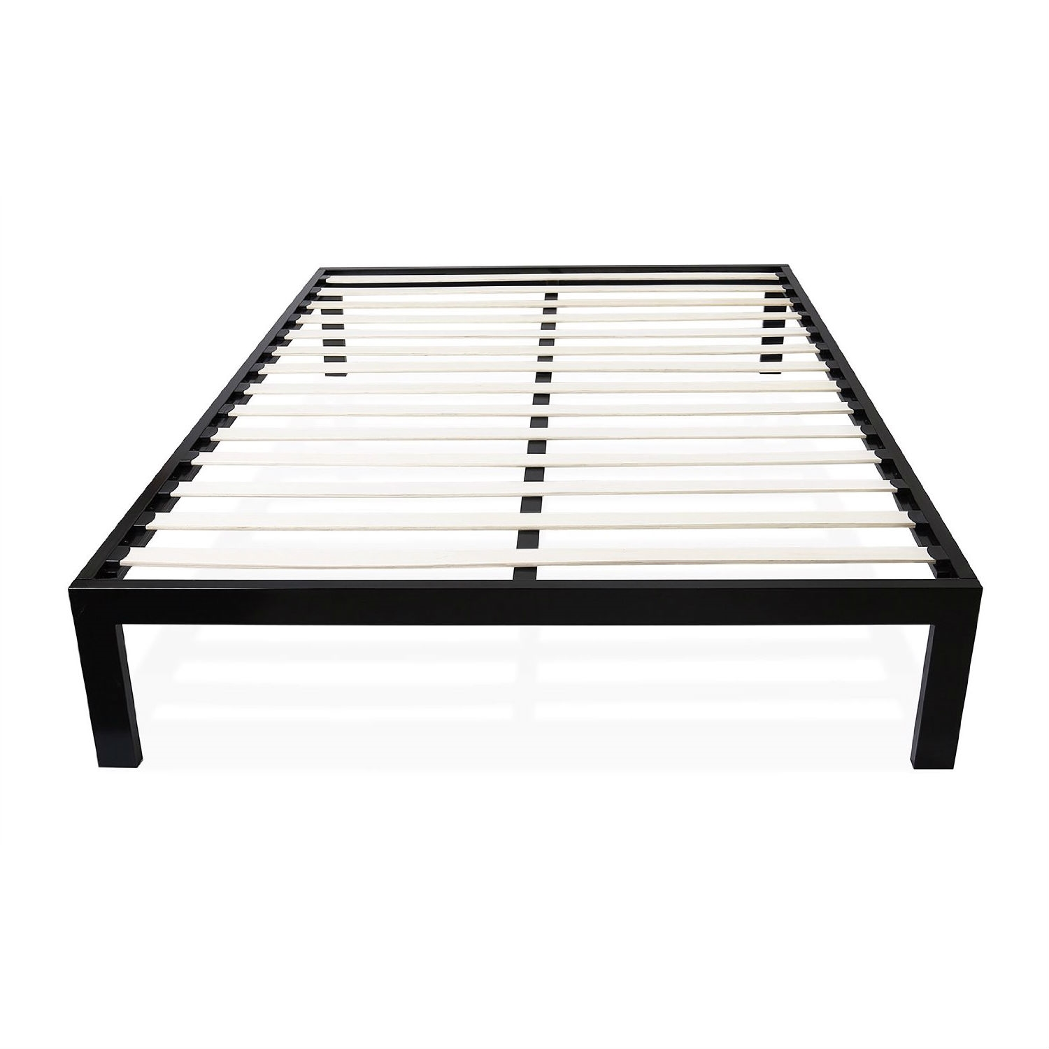 Wooden Bed Frame With Slats