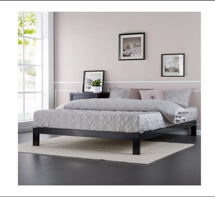 Wooden Box Spring Bed Frame