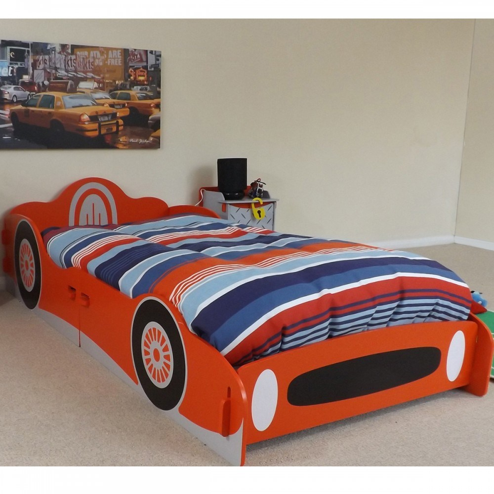 Wooden Car Bed Frame