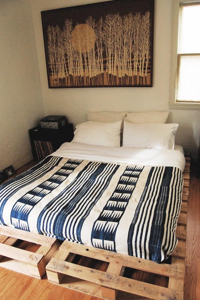 Wooden Pallet Bed Frame Ideas