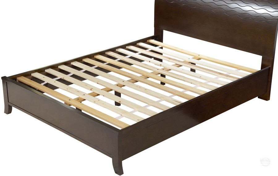 Wooden Slat Bed Frame Queen