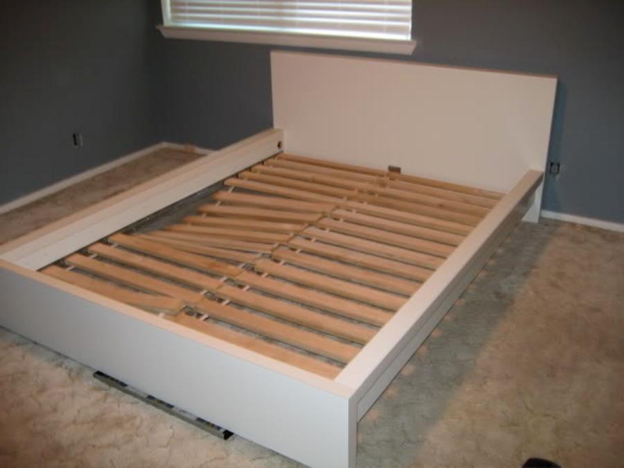 Wooden Slat Bed Frame Squeaks