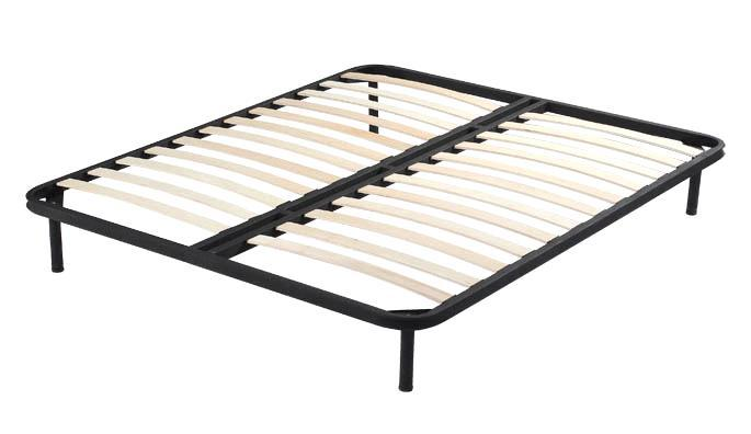Wooden Slat Queen Bed Frame