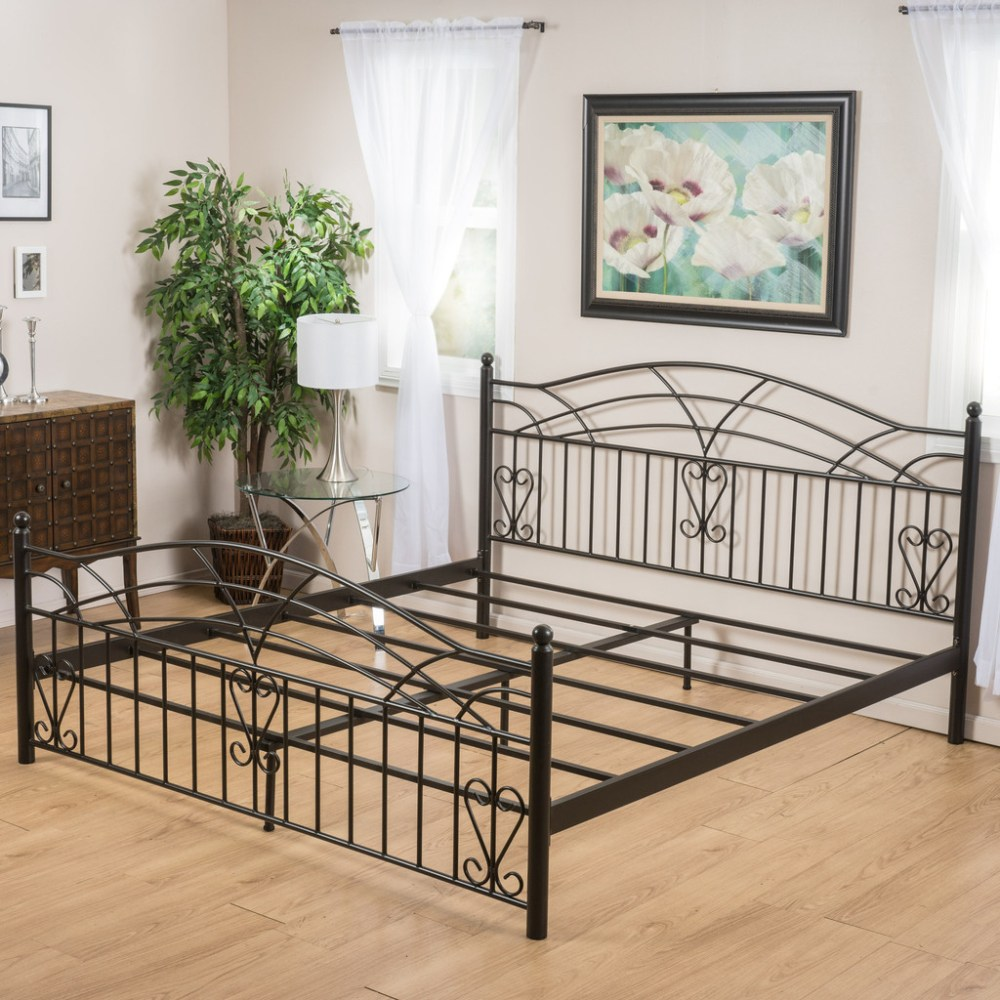 Wrought Iron Bed Frame California King