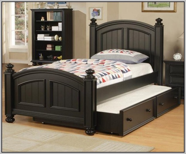 Xl Twin Trundle Bed Frame