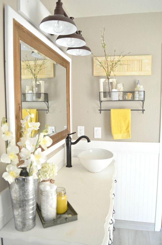 Yellow Bathroom Ideas Pinterest