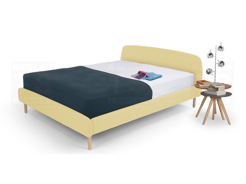 Yellow Double Bed Frame