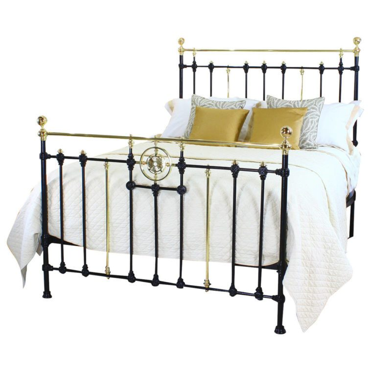 Yellow Iron Bed Frame