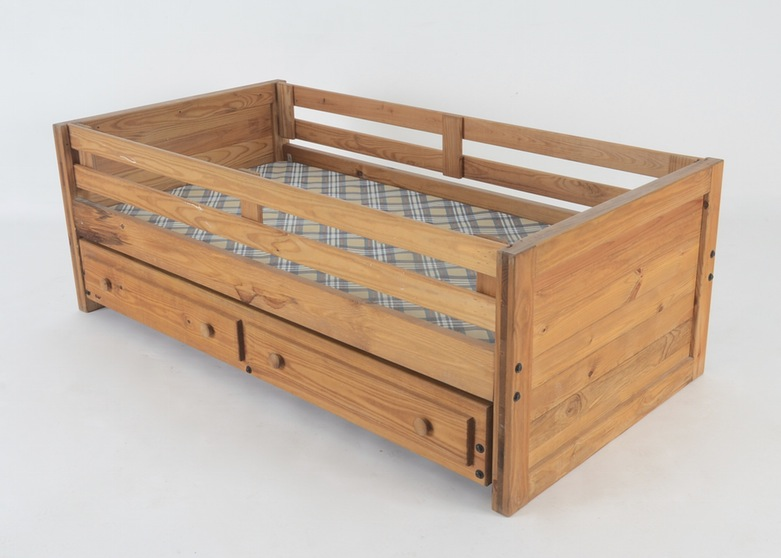 Yellow Pine Bed Frame