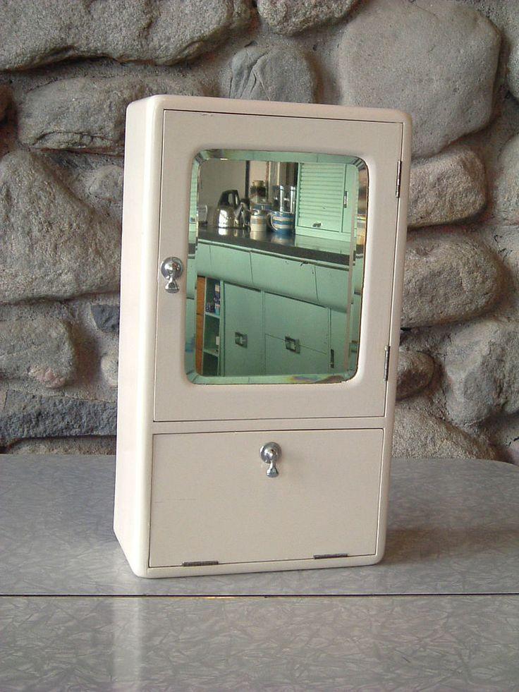 1940s Bathroom Medicine Cabinet