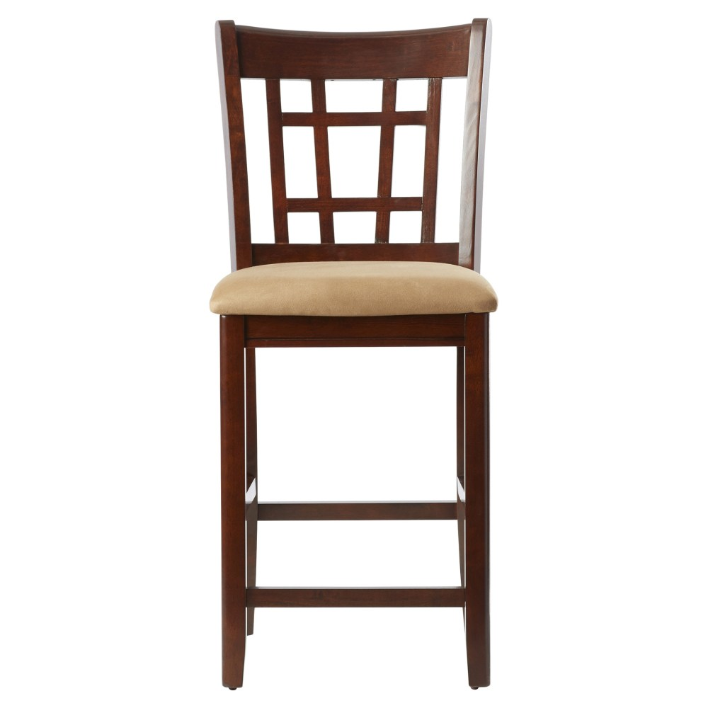 24 Bar Stool With Cushion
