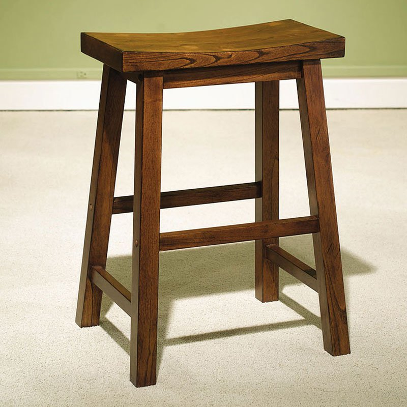 24 In Saddle Bar Stools