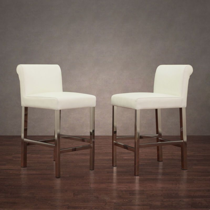 24 Inch Bar Stools With Back Set Of 2