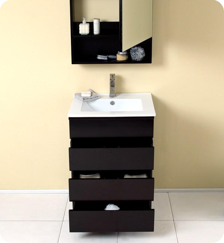 24 Inch Espresso Medicine Cabinet