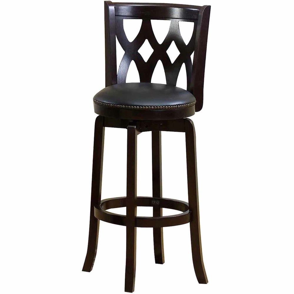 24 Oak Saddle Bar Stools